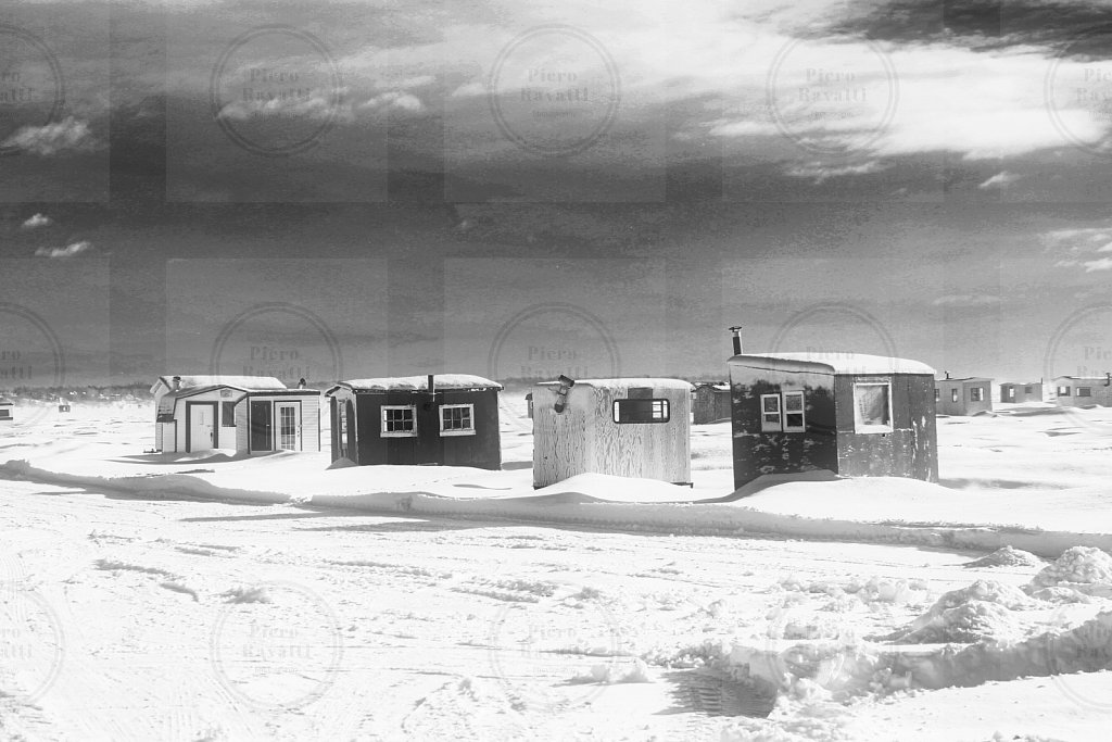 Ice Fishing Huts # 1
